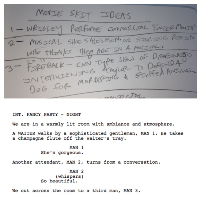 low budget filmmaking screenplay